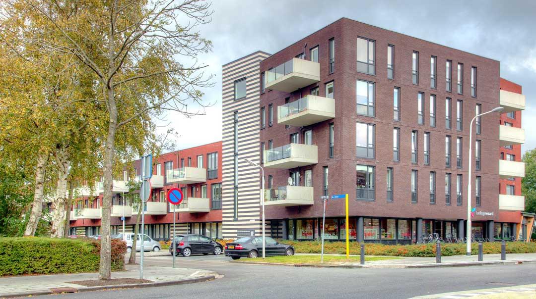 40 woningen met zorgplaatsen en MFC, Leeuwarden