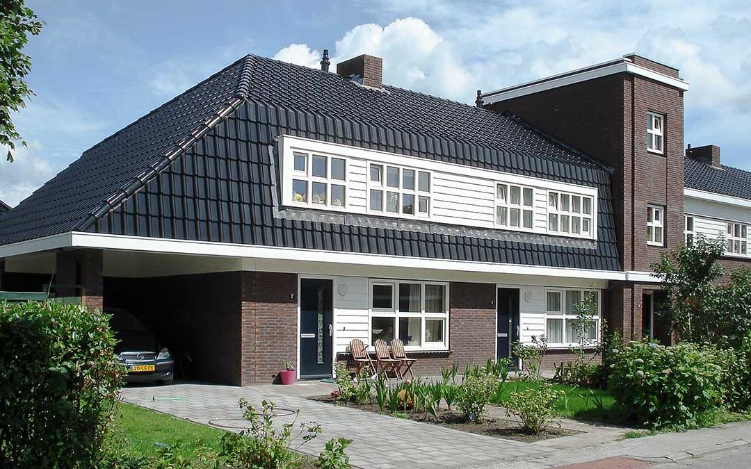 Renovatie 47 woningen, Haren