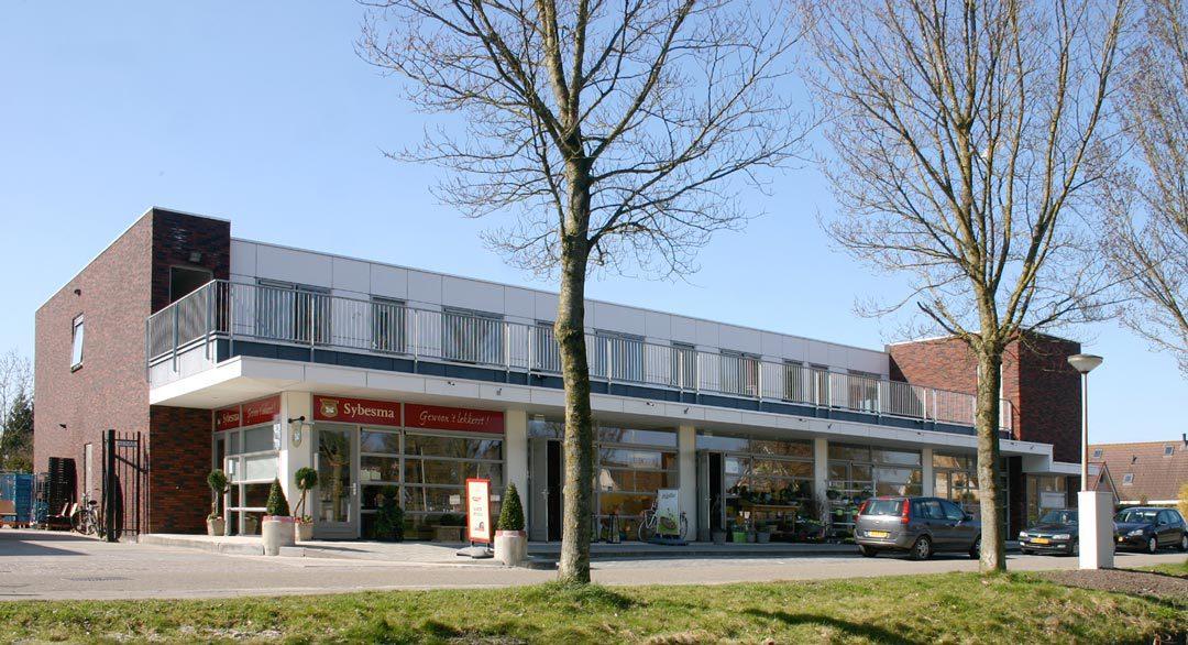 Wonen & winkels De Dobbe, Mantgum